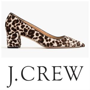 Avery Calf Hair Cheetah Print Pump